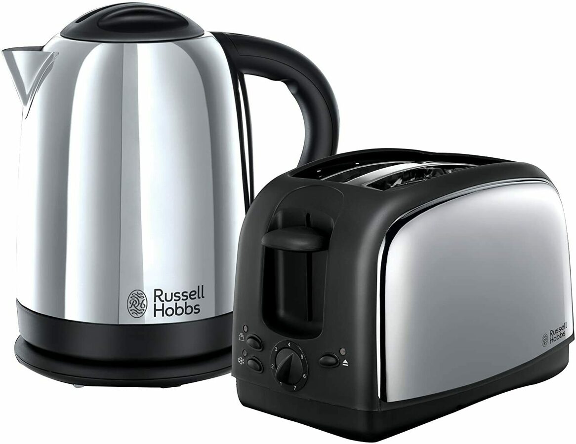 Russell Hobbs 21830 Lincoln Kettle and Toaster pack