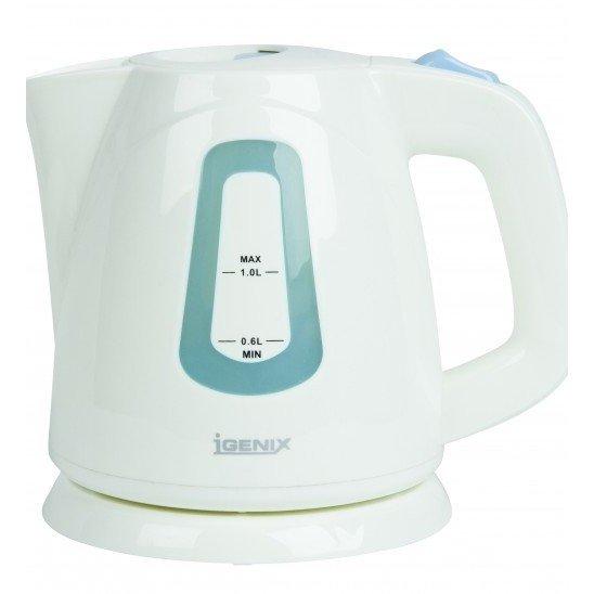 Igenix IG7458 1 Litre White Jug Kettle
