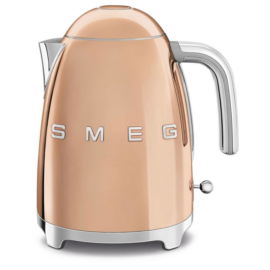 Smeg KLF03RGUK Rose Gold Retro Jug Kettle