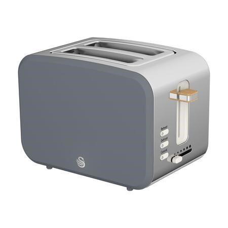 Swan ST14610GRYN 2 Slice Nordic toaster in grey