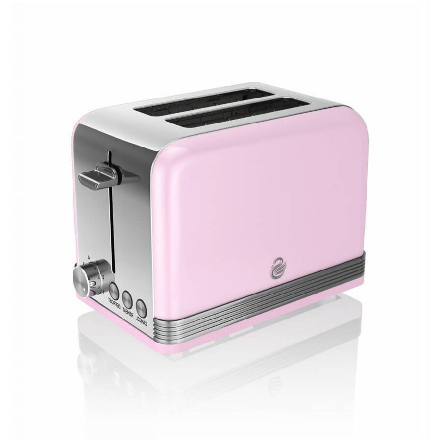 Swan ST19010PN Pink 2 Slice Toaster