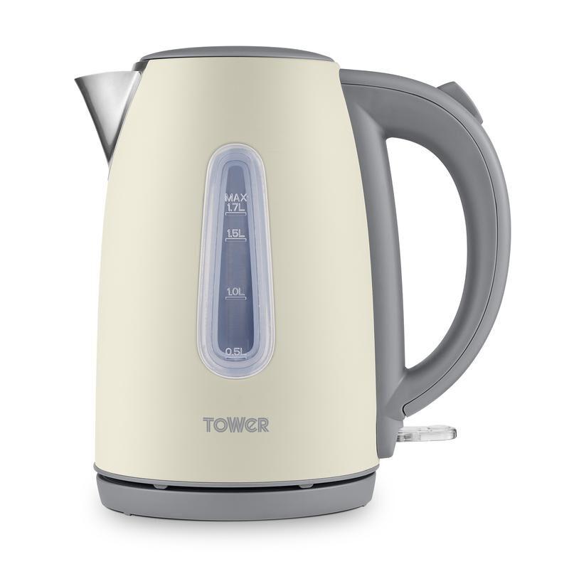 Tower T10048PEB Infinity Stone cream jug kettle