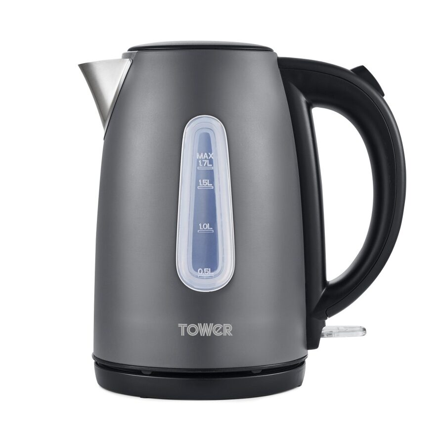 Tower T10048SLT Infinity stone Slate grey jug kettle