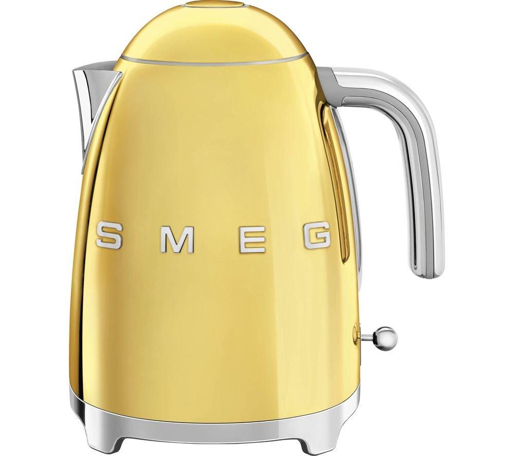 Smeg KLF03GOUK Gold Special Edition Retro Jug Kettle