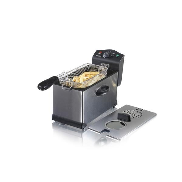 Swan 3 Litre Stainless Steel Fryer with Viewing Window