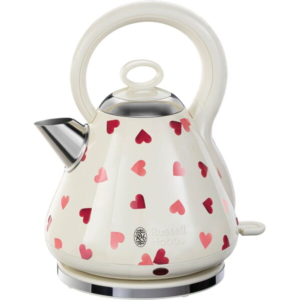 Russell Hobbs 28330 Emma Bridgewater Pink Hearts Kettle