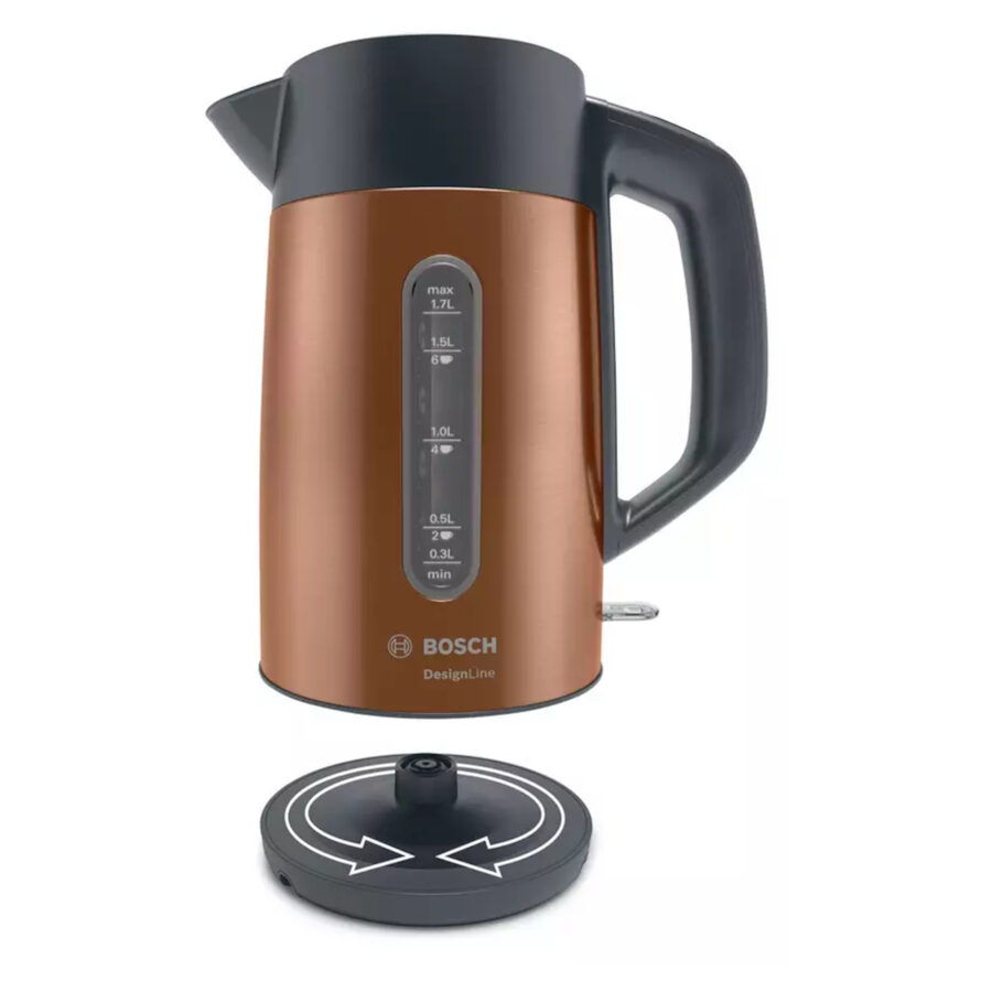 Bosch TWK4P439GB Design Line Copper Kettle